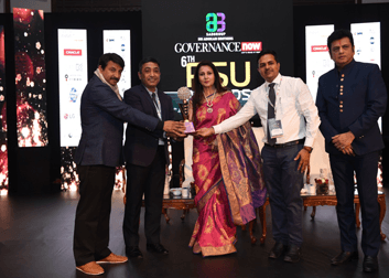 MDL Received Governance Now 6th PSU Awards in CSR
